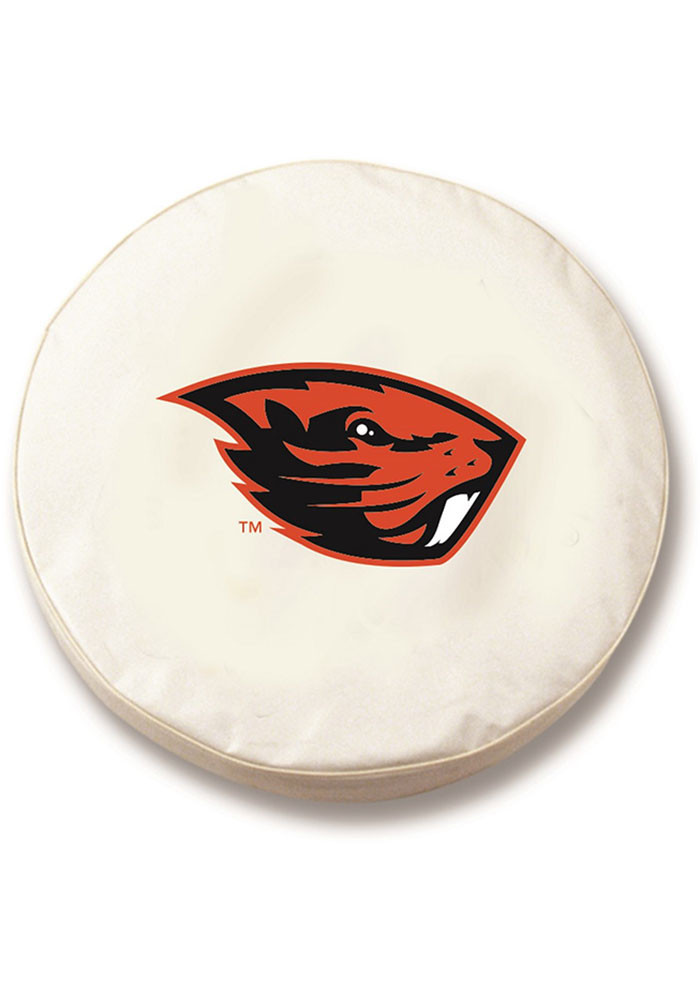 Oregon State Beavers tire cover Car Accessory Tire Cover - Image 1