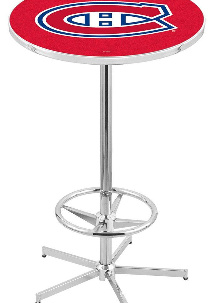 Montreal Canadiens Red Pub Table - Image 1