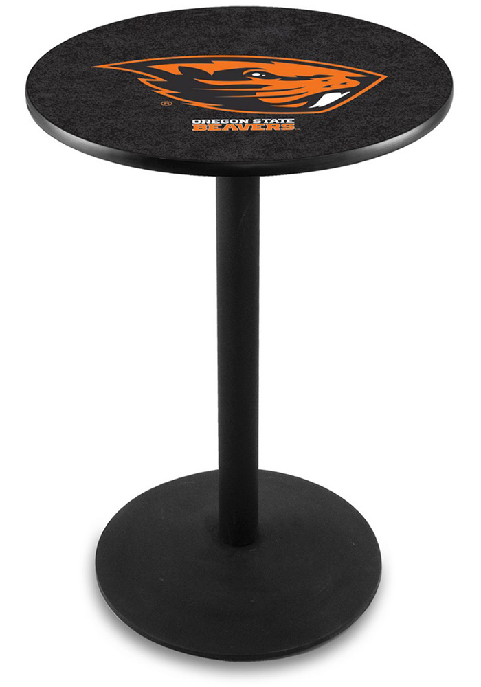 Oregon State Beavers L214 36 Inch Pub Table - Image 1