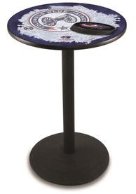 Columbus Blue Jackets L214 36 Inch Pub Table