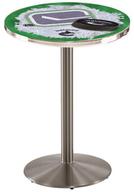 Vancouver Canucks L214 36 Inch Pub Table