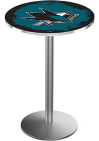 San Jose Sharks L214 36 Inch Pub Table