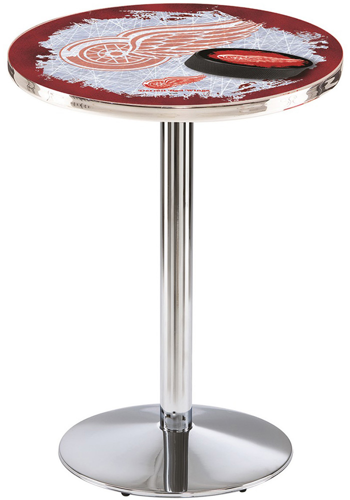 Detroit Red Wings L214 36 Inch Pub Table - Image 1