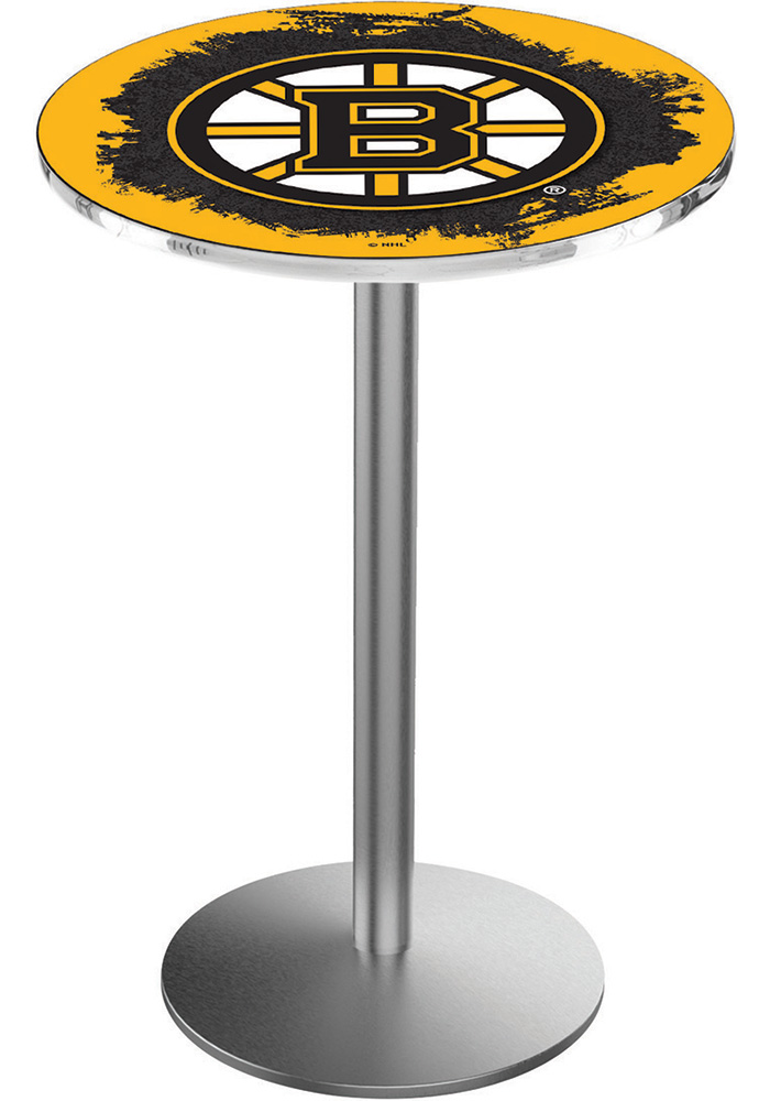Boston Bruins L214 36 Inch Pub Table - Image 1