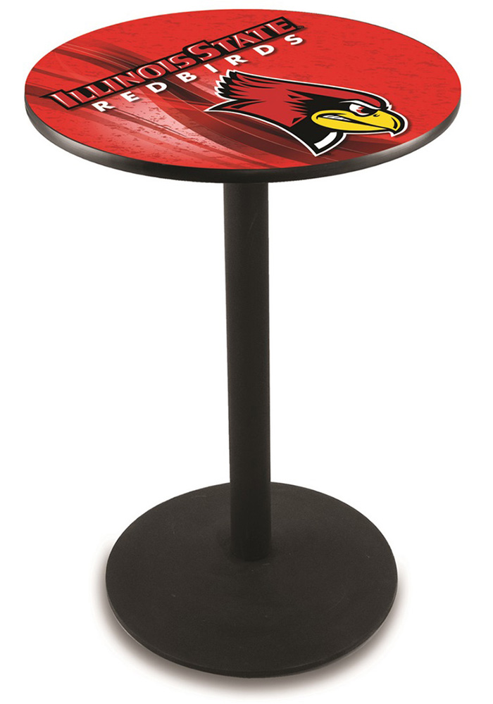 Illinois State Redbirds L214 42 Inch Pub Table - Image 1