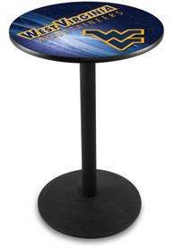 West Virginia Mountaineers L214 42 Inch Pub Table