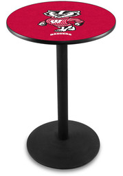 Wisconsin Badgers L214 42 Inch Pub Table