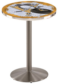 Pittsburgh Penguins L214 42 Inch Pub Table