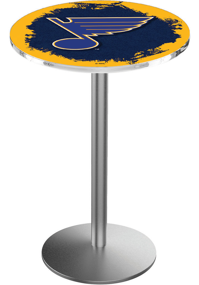 St Louis Blues L214 42 Inch Pub Table - Image 1