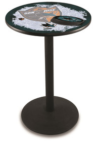 San Jose Sharks L214 42 Inch Pub Table