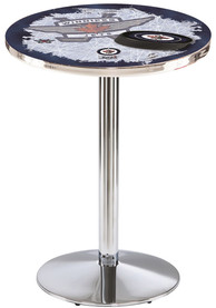 Winnipeg Jets L214 42 Inch Pub Table