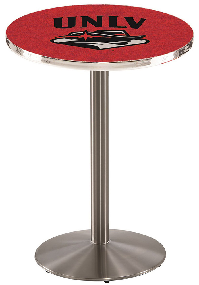 UNLV Runnin Rebels L214 42 Inch Pub Table - Image 1