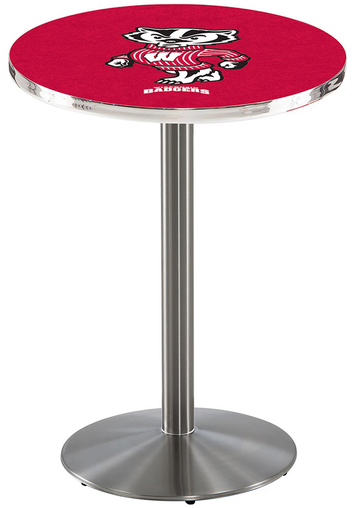 Wisconsin Badgers L214 42 Inch Pub Table - Image 1