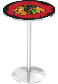 Chicago Blackhawks L214 42 Inch Pub Table