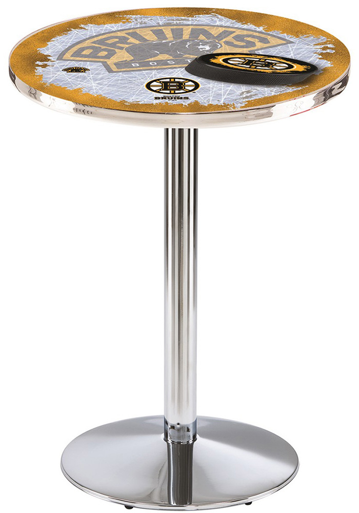 Boston Bruins L214 42 Inch Pub Table - Image 1