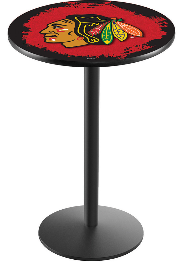 Chicago Blackhawks L214 42 Inch Pub Table - Image 1