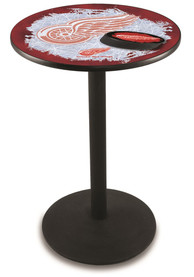 Detroit Red Wings L214 42 Inch Pub Table