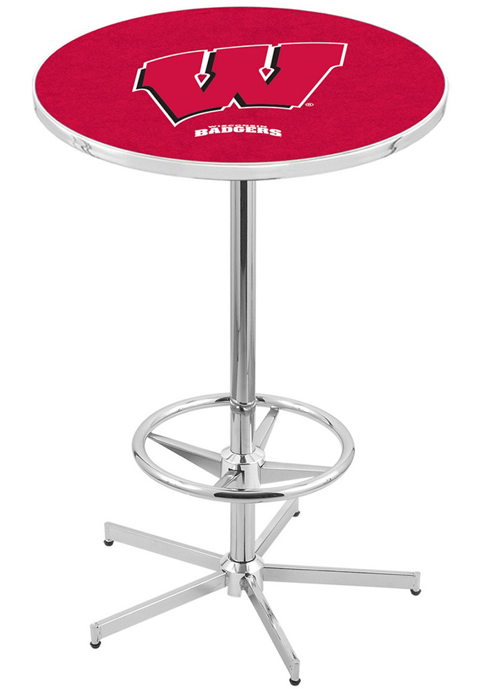 Wisconsin Badgers L216 42 Inch Pub Table - Image 1