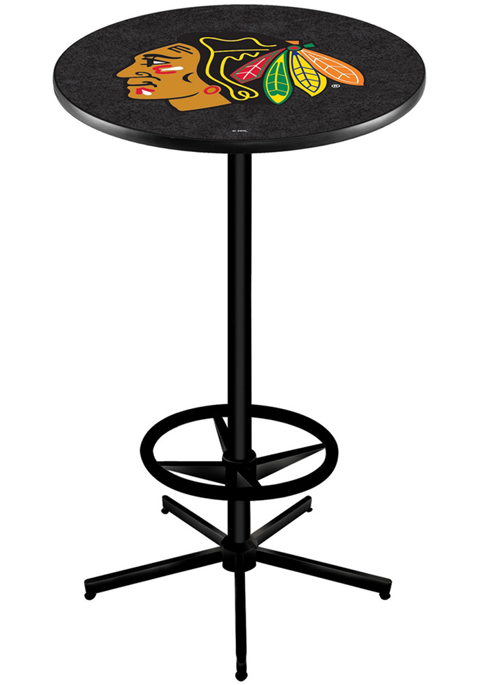 Chicago Blackhawks L216 42 Inch Pub Table - Image 1