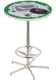 Vancouver Canucks L216 42 Inch Pub Table