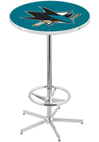 San Jose Sharks L216 42 Inch Pub Table