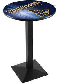 West Virginia Mountaineers L217 36 Inch Pub Table