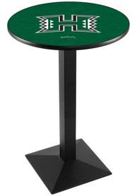 Hawaii Warriors L217 36 Inch Pub Table