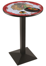 Chicago Blackhawks L217 36 Inch Pub Table