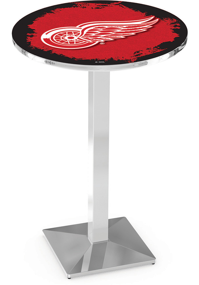 Detroit Red Wings L217 36 Inch Pub Table - Image 1