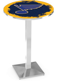 St Louis Blues L217 36 Inch Pub Table