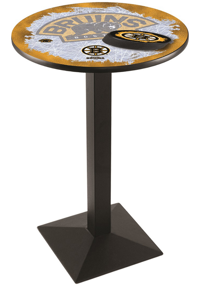 Boston Bruins L217 36 Inch Pub Table - Image 1