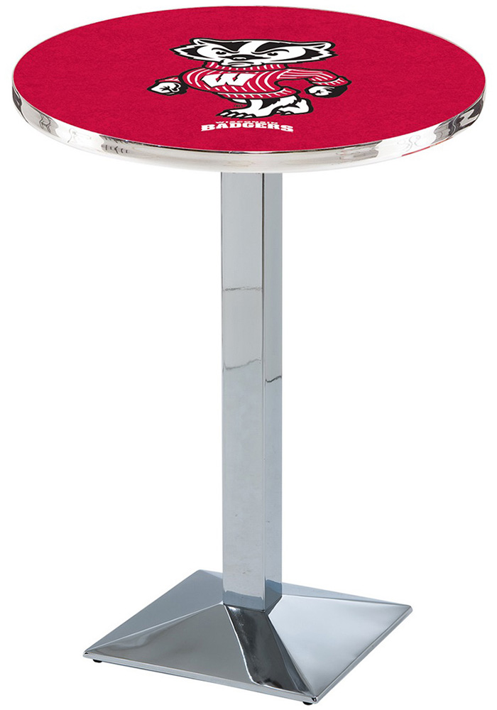 Wisconsin Badgers L217 36 Inch Pub Table - Image 1