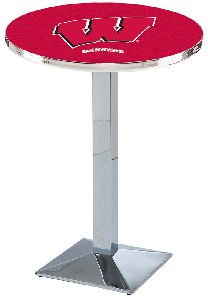 Wisconsin Badgers L217 42 Inch Pub Table - Image 1