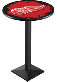 Detroit Red Wings L217 42 Inch Pub Table