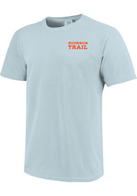 Kentucky Light Blue Bourbon Trail Wax Stamp Short Sleeve T Shirt