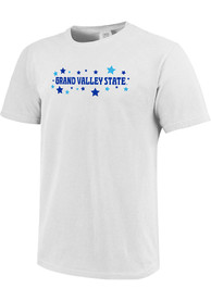 Grand Valley State Lakers Womens Star T-Shirt - White