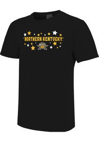Northern Kentucky Norse Womens Star T-Shirt - Black