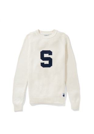 Penn State Nittany Lions Mens White Heritage Sweater