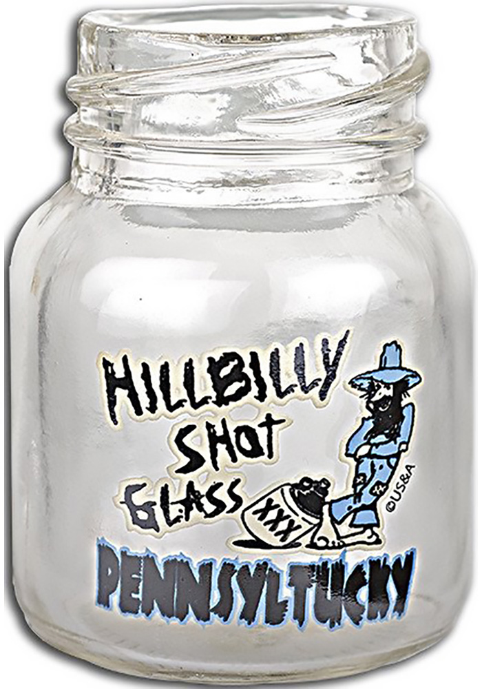 Pennsylvania Hillybilly Shot Glass - Image 1