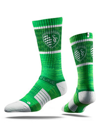 Sporting Kansas City Strideline St Pats Crew Socks - Green