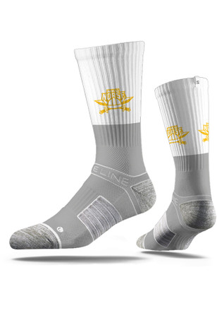 Northern Kentucky Norse Mens Grey Split Crew Socks