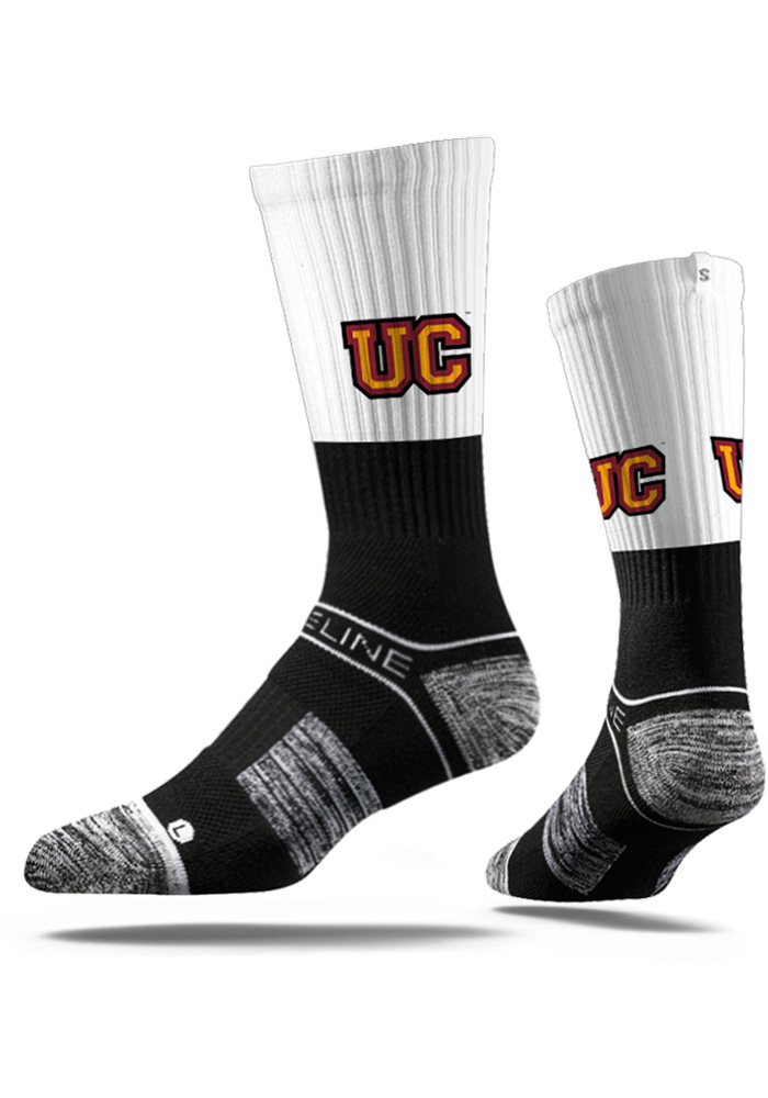 Ursinus Bears Strideline Split Mens Crew Socks - Image 1