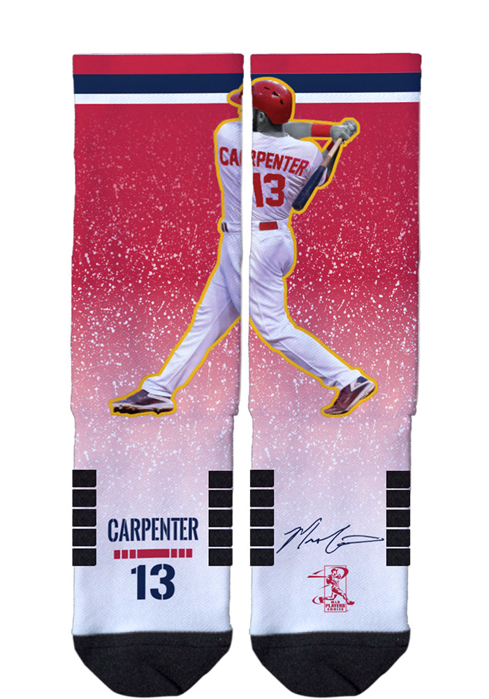 Matt Carpenter Action Mens Crew Socks - Image 1