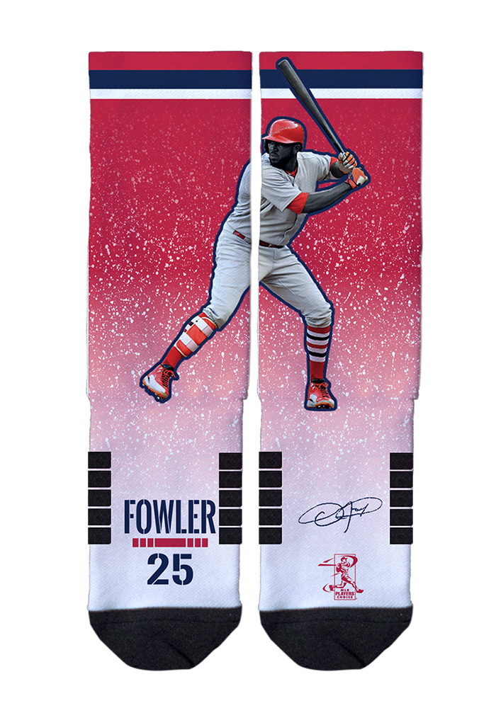 Dexter Fowler Action Mens Crew Socks - Image 1
