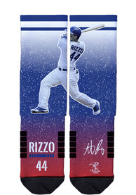 Anthony Rizzo Chicago Cubs Strideline Action Crew Socks - Blue