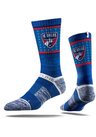 FC Dallas Strideline Team Logo Crew Socks - Blue
