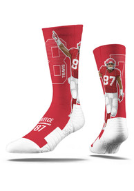 Travis Kelce Kansas City Chiefs Strideline Player Crew Socks - Red