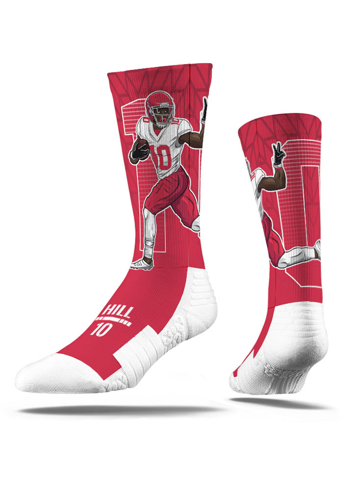 Tyreek Hill Player Mens Crew Socks - Image 1