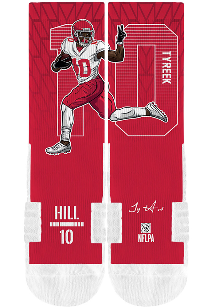 Tyreek Hill Player Mens Crew Socks - Image 2