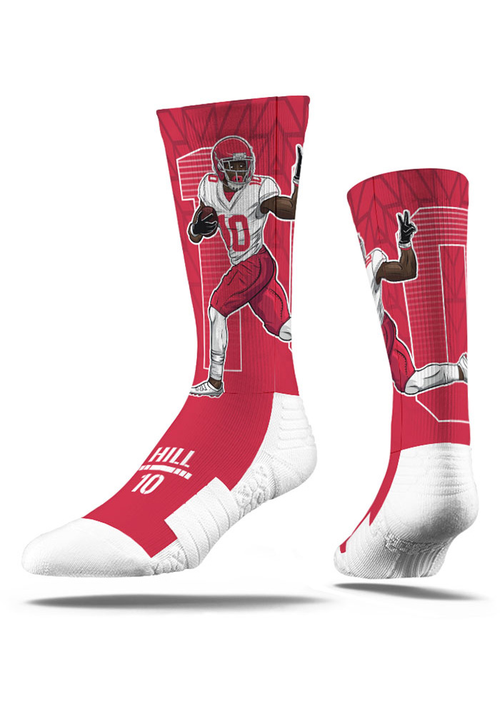 Tyreek Hill Player Mens Crew Socks - Image 3